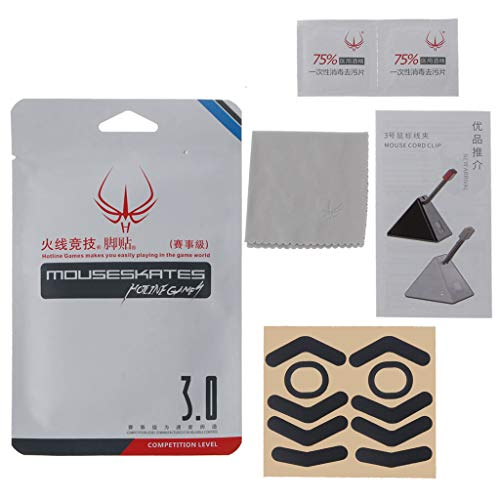 mengersty Hotline Games Mouse Skates Side Stickers Anti-Slip for Finalmouse Cape Town Ul2