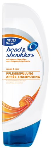 Head & Shoulders Anti-Schuppen Pflegespülung repair, care, 6er Pack (6 x 250 ml)