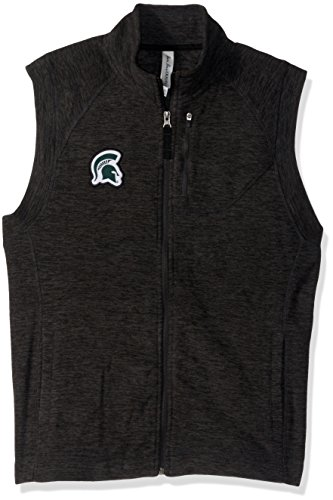 Ouray Sportswear NCAA Michigan State Spartans Damen-Weste, Charcoal Heather, XL