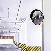 Premium-Espejo-convexo-de-seguridad-30-cm-Espejos-de-trafico-perfecto-para-garajes-y-para-la-transparencia-de-ngulos-de-Muertos