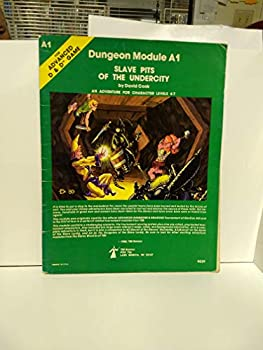 A1 Slave Pits of the Undercity - Book  of the Advanced Dungeons and Dragons Module #C4