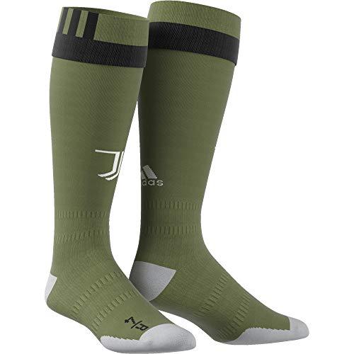 adidas Juve 3 So Calcetines-Línea Juventus de Turín, Hombre, Verde (verart/Negro), 4