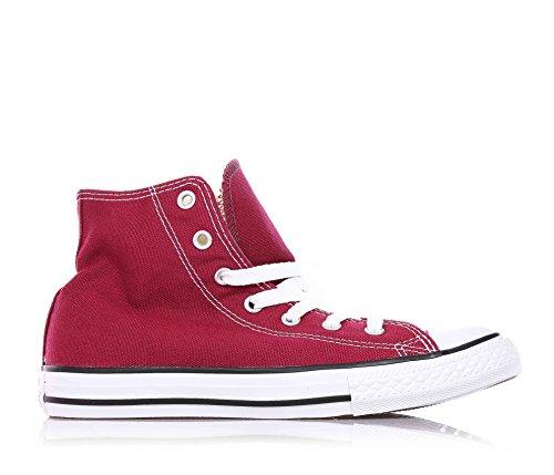 CONVERSE - Bordeauxrote Sneakers mit Schnürsenkel, aus Stoff, Unisex Kinder,Mädchen,jungen-31