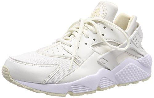 Nike Damen WMNS AIR Huarache Run Gymnastikschuhe, Weiß (Sail/Fossil/Bianco 115), 36.5 EU