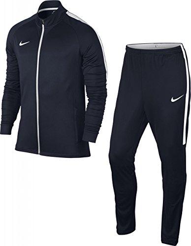 Nike M Nk Dry Acdmy Trk K Tuta, Obsidian/Obsidian/Bianco/Bianco, S
