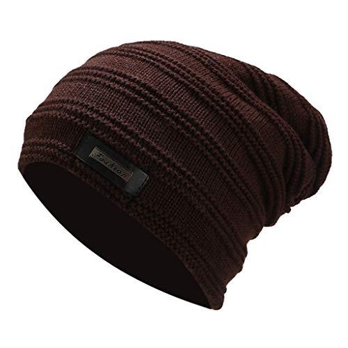 Aberimy Beanie Damen Herren Mützen Jersey Kopfbedeckung Baumwolle elastisches Wintermütze Strickmütze Longbeanie, Leicht und Weich, Kopfbedeckung für Sport, Chemo, Haarausfall, Schlaf 0021