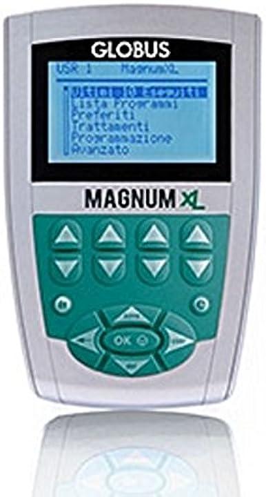 Magnetoterapia magnum xl globus - 400 gauss - 2 canali - 26 programmi - 1 solenoide flessibile B01CT4OSX4