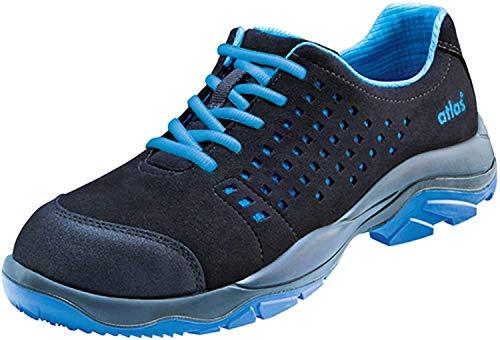 Atlas SL 40 Blue - EN ISO 20345 S1 Sicherheitsschuhe/Arbeitsschuhe (45, schwarz-blau)