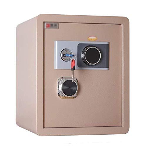 Caja fuerte de seguridad, caja fuerte de gabinete, caja fuerte, caja fuerte mecánica de gran capacidad Contraseña Caja fuerte de acero inoxidable a prueba de agua contra incendios Caja de depósito Arm