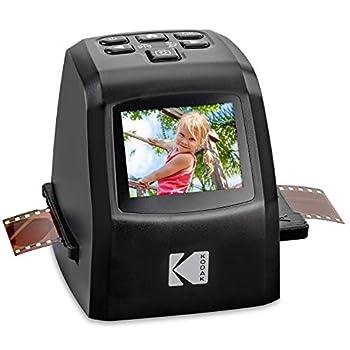KODAK Mini Digital Film & Slide Scanner – Converts 35mm 126 110 Super 8 & 8mm Film Negatives & Slides to 22 Megapixel JPEG Images – Includes - 2.4 LCD Screen – Easy Load Film Adapters