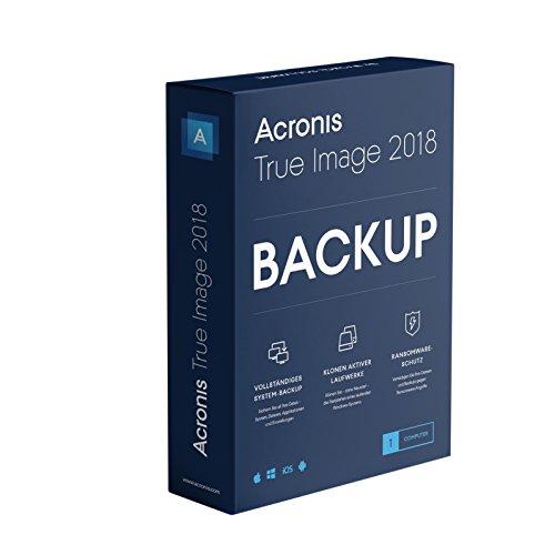 Acronis True Image 2018 - 1 Computer