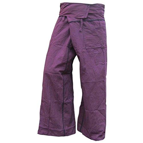 PANASIAM - Pantalón - para hombre morado Talla única