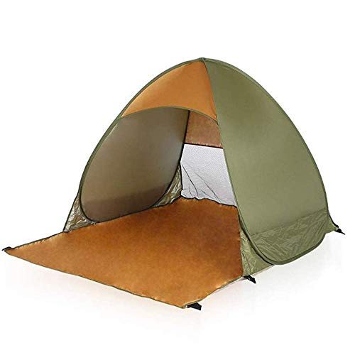 Dhmm123 Durable Camping Tent Camping Tent People Backpack Tent Double layer Outdoor Lightweight Tent Waterproof Windproof Hiking Fishing Mountaineering 145 * 165 * 110cm,Easy to Install