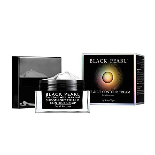 Sea of Spa Black Pearl - Smooth-out Eye and Lip Contour Cream, 1-Ounce by Sea of Spa