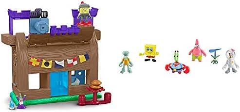 Fisher Price Imaginext Spongebob Krusty Krab Kastle Amazon Exclusive Imaginext Spongebob Figure product image
