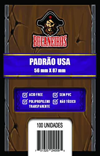 Sleeve Padrão USA - Bucaneiros Jogos