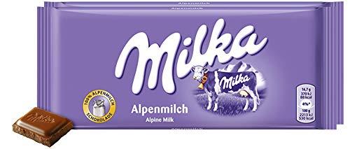 Milka Alpinemilk Chocolate Bar Candy Alpenmilch Original German...