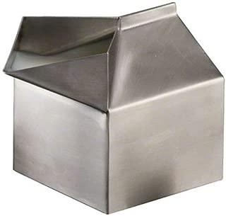 American Metalcraft MCC300 Stainless Steel Milk Carton Creamer Dispenser, Silver, 3-Ounce