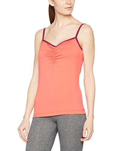 Salewa - FANES Minimal DRI-REL W Tank T-Shirt - L - Rouge - Femme