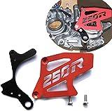 ATC250R ATC 250R TRX 250R TRX250R CASE SAVER WITH SPROCKET COVER RED