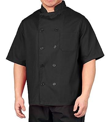 KNG Lightweight Short Sleeve Chef Coat
