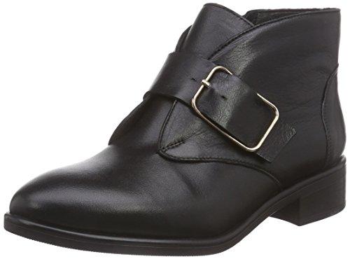 Inuovo Damen LOUREED Kurzschaft Stiefel, Schwarz (BLACK), 36 EU