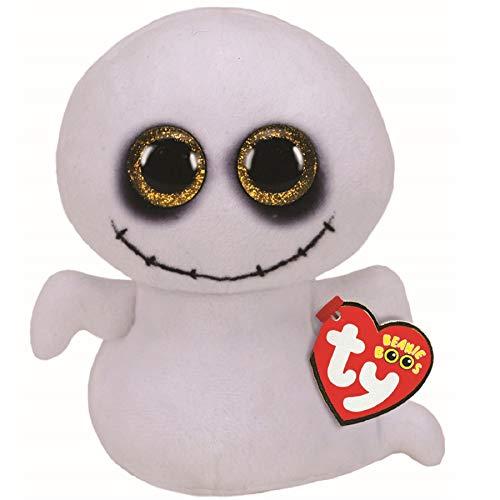 TY UK Ltd 36236 Spike Ghost Halloween 2020 Plüschtier, Mehrfarbig, 15 cm