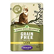 Jwb Senior Cat Pouches Grain Free Lamb 85g (Pack of 12)