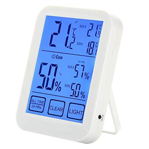 FENXIXI Termómetro de habitación - Termómetro electrónico de temperatura y humedad