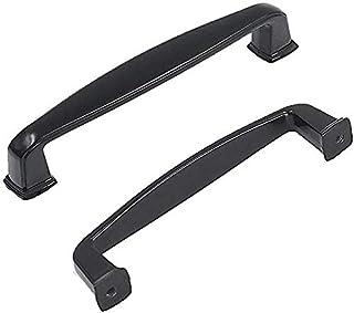 76mm Cabinet Handles Black Drawer Pulls 25 Pack - homdiy HD8791BK Kitchen Cabinet Pulls Black Cabinet Hardware Knobs 3inch...