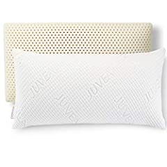 NATURAL, ECO-FRIENDLY - Talalay latex is made from plant-based ingredients from sustainable and renewable resources. Manufactured and assembled in the USA in our Shelton, Connecticut factory, our Talalay latex low profile foam pillow provides stomach...