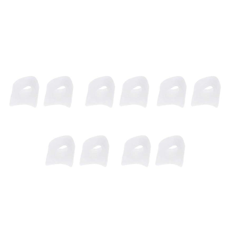 レトルト要求する少なくともFLAMEER 5ペア 足指セパレーター つま先区切り シリコン製 2サイズ選べ - S