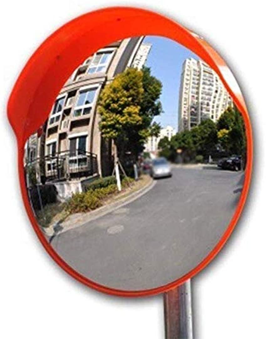 古風な八百屋さん虚弱交差点安全ターニングミラー、輸送施設凸面鏡ストリートセーフティー広角レンズ車のブラインドスポットミラー30-120CM(サイズ:120CM)