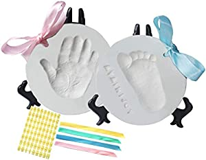 ❤️THE PERFECT BABY SHOWER GIFTS YOU WERE LOOKING IS our Baby Ornament kit which is the cutest baby shower gift you can find; This EXTRA VALUE BUNDLE comes with everything you need: 4 ribbons and 2 easels so you can choose how to display those preciou...