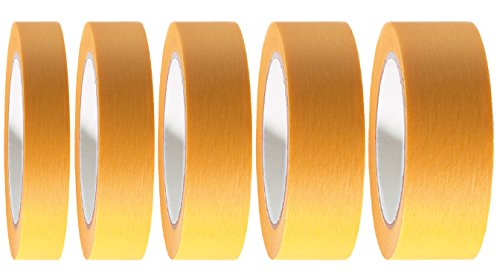 32 x Goldband Fineline Tape Klebeband 30 mm x 50 m | Malerband Soft Tape Kartonpreis 0,040EUR/m