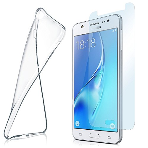 MoEx Funda de Silicona Compatible con Samsung Galaxy J5 (2015) [360 Grados]...