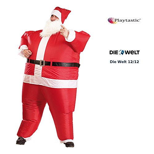 Playtastic Costume Gonflable Père Noël