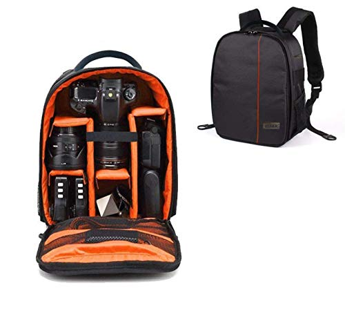 Osaka Pro Series-11 Waterproof DSLR Backpack Camera Bag, Lens Accessories Carry Case for Nikon, Canon, Olympus, Pentax & Others-Made in...