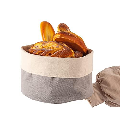 wanhonghui Koszyk do chleba, kosze na chleb, wygodny koszyk na chleb do przechowywania chleba i wypieków