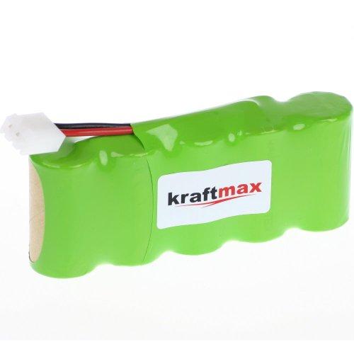 Akku Passend für Bosch SOMFY K8 / K10 / K12 / Alle Roll-Lift & Easy-Lift - 3000mAh Hochleistungsakku von Kraftmax [ NIMH - Green-Line ] Akkupack von Bester Qualität mit Hochwertigen Markenzellen