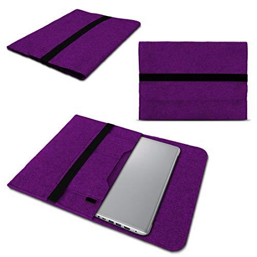 NAUC Lenovo Thinkpad Yoga 370 Tasche Hülle Filz Sleeve Hülle Schutzhülle Notebook Cover, Farben:Lila