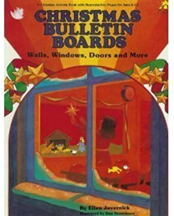 Christmas Bulletin Boards Walls Windows Doors Christian Bulletin