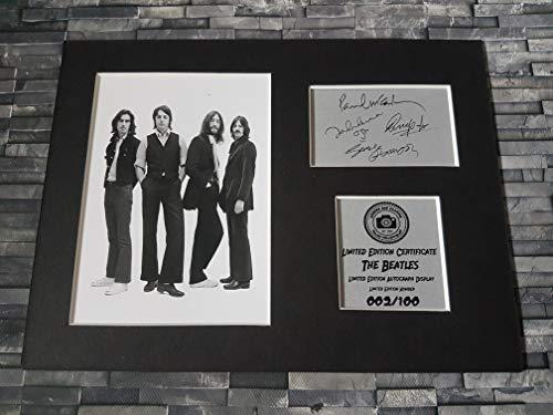 Havoc Autogramm The Beatles Autogramm, gerahmt