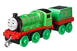 ​Includes die-cast metal engines and vehicles ​Features plastic connectors to attach to other Push Along and Motorized TrackMaster engines, vehicles, cargo cars or tenders (sold separately and subject to availability) ​Highly detailed to reflect the ...