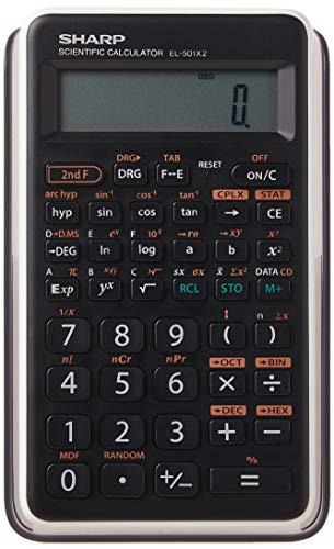 Sharp EL501X2BWH Engineering/Scientific Calculator