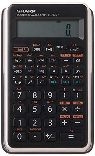 Sharp EL501X2BWH Engineering/Scientific Calculator