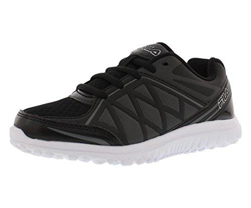 Fila Energystrike Boys Running Shoes Size US 1.5, Regular Width, Color Grey/Black