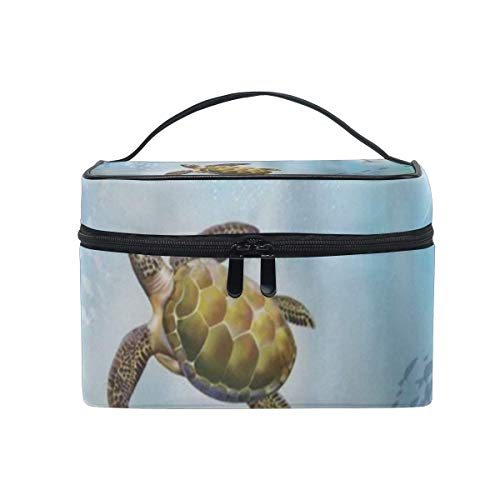 Trousse de maquillage Turtle Sea Cosmetic Bag Portable Large Toiletry Bag for Women/Girls Travel