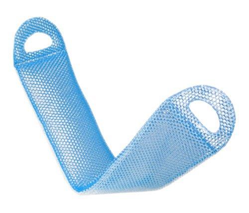 Supracor Spa Body Exfoliator Bath Face Scrub Sponge (Blue/White)