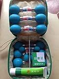 18 piezas de succión magnética acupresión astilla 18 agujas manipulación acupuntura y ahuecamiento
